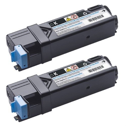 DELL 593-11035 (84R1W) Toner black, 3K pages, Pack qty 2