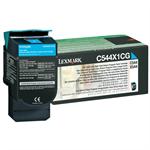 Lexmark C544X1CG Toner cyan, 4K pages