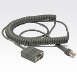 Zebra RS232 Cable 3.6m Grey signal cable
