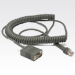 Zebra RS232 Cable cable de señal 3.6 m Grey