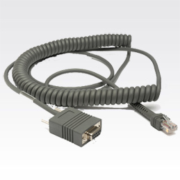 Zebra RS232 Cable signal cable 3.6 m Grey