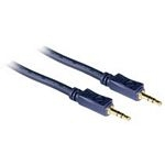 C2G 3m Velocity 3.5mm Stereo Audio Cable M/M cable de audio 3,5mm Negro