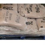 WINTER DRY BRN ROCK SALT 25KG BAG 10 BAGS GS