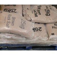 WINTER DRY BRN ROCK SALT 25KG BAG 10 BAGSGS