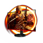 "AOC 90 Series G2590VXQ computer monitor 62,2 cm (24.5"") 1920 x 1080 Pixels Full HD LED Zwart"