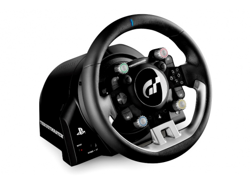 T-GT T700 Rs Gt UK Steering wheel + Pedals PC, PlayStation 4 Black