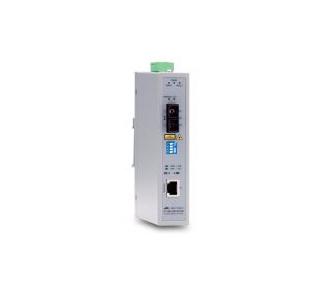 Allied Telesis AT-IMC100T/SCSM-80 network media converter 100 Mbit/s Single-mode Grey