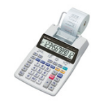 Sharp EL-1750V calculator Pocket Printing White