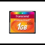 Transcend 1 GB CF 133x memory card CompactFlash MLC