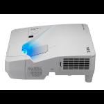 NEC UM301W Projector - 3000L - WXGA - UST Inc Wall Bracket