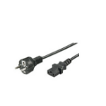Microconnect PE020450 power cable Black 5 m CEE7/7 C13 coupler