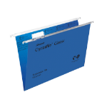 Rexel Crystalfile Classic Foolscap Suspension File 15mm Blue (50)