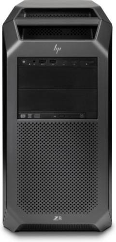 HP Z8 G4 Intel® Xeon® 4108 64 GB DDR4-SDRAM 1000 GB SSD Tower Black Workstation Windows 10 Pro for Workstations