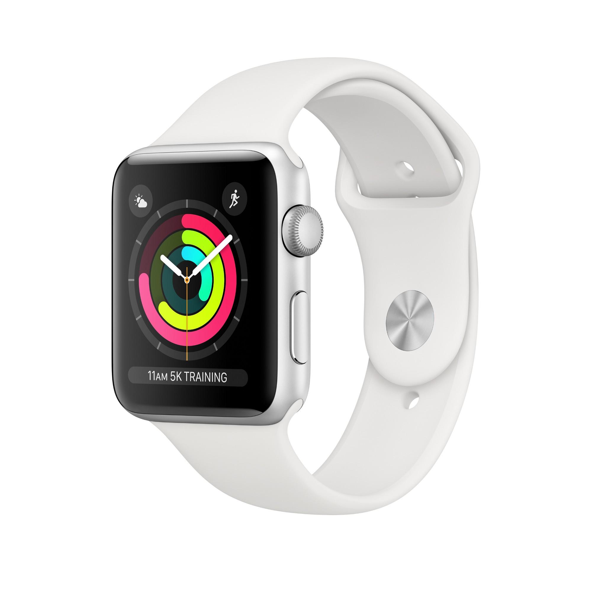 Apple Watch Series 3 OLED 42 mm Plata GPS (satélite)