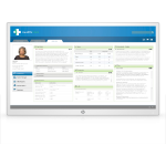 "HP Healthcare Edition HC271p 68.6 cm (27"") 2560 x 1440 pixels Quad HD LED Flat White"