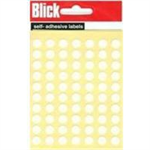 BLICK LABEL BAG 8MM WHT PK490 000853