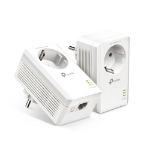 TP-LINK TL-PA7017P KIT PowerLine network adapter 1000 Mbit/s Ethernet LAN White 2 pc(s)