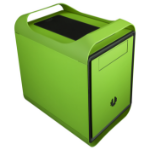 BitFenix BFC-PRM-300-GGXKK-RP Green computer case