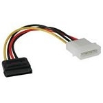 C2G SATA Power Adapter Cable power cable Multicolor 0.15 m