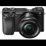 Sony A6000 + 16-50mm Cuerpo MILC 24.3MP CMOS 6000 x 4000Pixeles Negro