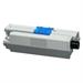Delacamp 44469803-C compatible Toner black, 3.5K pages, 880gr (replaces OKI 44469803)