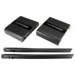 Cables Direct HD-EXWL50 AV transmitter & receiver Black AV extender