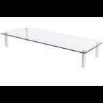 "Digitus DA-90358 32"" Freestanding Transparent flat panel desk mount"