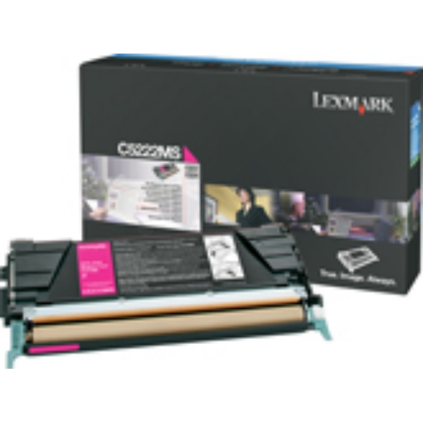 Lexmark C522A3MG Toner magenta, 3K pages @ 5% coverage