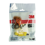 3M EXTRA SOFT EAR PLUGS 87-98DB