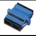 Digitus DN-96003-1 adaptador de fibra óptica SC/SC Negro, Azul 20 pieza(s)