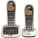 British Telecom BT 4000 Twin DECT telephone Beige,Silver