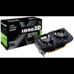 Inno3D N105T-1DDV-M5CM graphics card NVIDIA GeForce GTX 1050 Ti 4 GB GDDR5