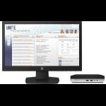 HP ProDesk 400 G3 Mini + V197 2,70 GHz 7ª generación de procesadores Intel® Core™ i5 i5-7500T Negro, Plata Escritorio Mini PC