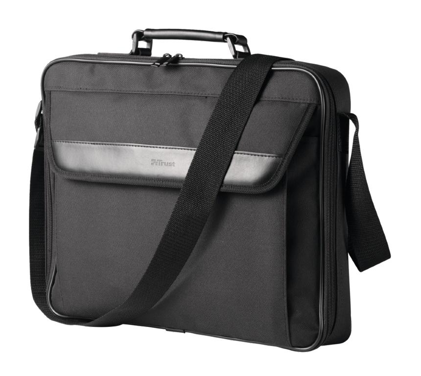 """Trust Atlanta 16"""" maletines para portátil 40,6 cm (16"""") Maletín Negro"""