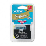 Brother M531 printer label Blue M