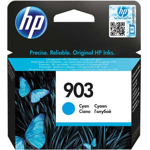 HP 903 Cyan Ink Cartridge 315pages Cyan ink cartridge
