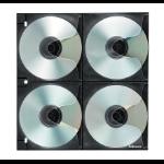 Fellowes 4x4 Binder Sheet - 25 Pack