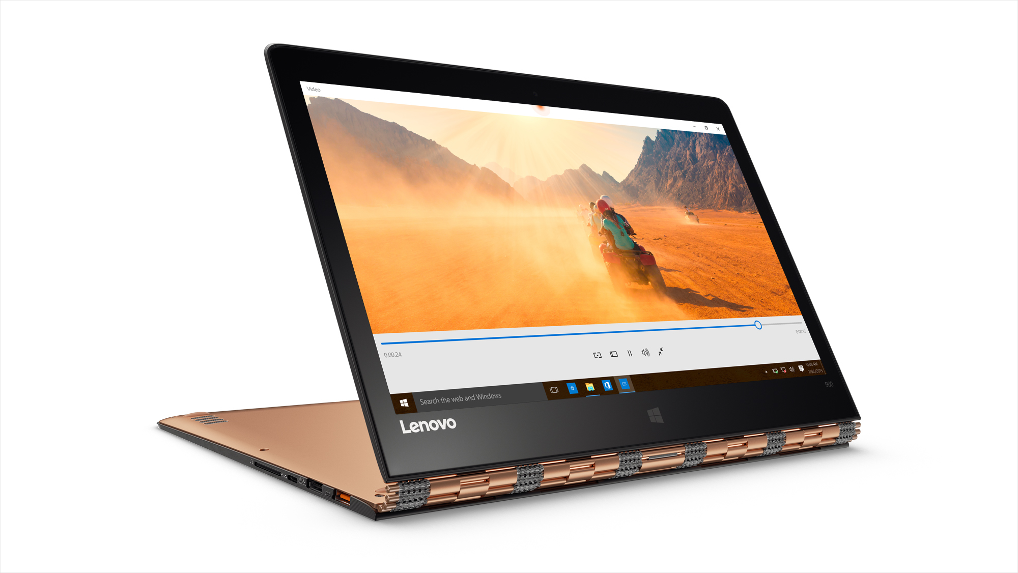 "Lenovo IdeaPad Yoga 900 13 2.4GHz i5-6300U 13.3"" 3200 x 1800pixels Touchscreen Champagne,Gold"