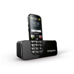 "Emporia ECO 2.2"" 70g Black Senior phone"