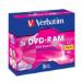 Verbatim DVD-RAM 3x 4.7 GB 5 pc(s)