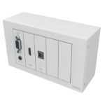 Vision TC3-PK+PK3MCABLES White outlet box