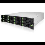 Qsan Technology XCubeNAS Ethernet LAN Rack (2U) Black NAS
