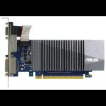 ASUS GT710-SL-1GD5-BRK - Graphics card - GF GT 710 - 1 GB GDDR5 - PCIe 2.0 low profile - DVI, D-Sub, HDMI