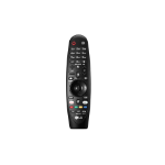 LG AN-MR650A RF Wireless Press buttons Black remote control