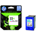 HP C9352CE (22XL) Printhead color, 415 pages, 11ml
