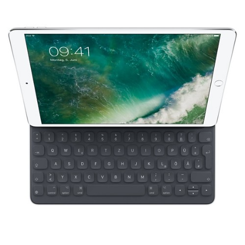 Apple Smart mobile device keyboard Black German Smart Connector