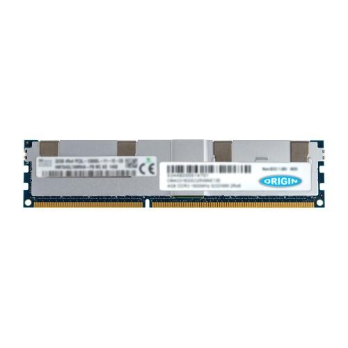 Origin Storage Origin 32GB 4Rx4 DDR3-1866 PC3-14900L Load Reduced ECC 1.5V 240-pin LRDIMM