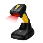 Adesso NuScan 4100B Handheld bar code reader 1D CCD Black,Yellow