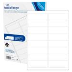MediaRange MRINK147 self-adhesive label White Permanent 800 pc(s)