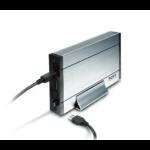 "Port Designs 900033 HDD enclosure 3.5"" Zilver opslagbehuizing"